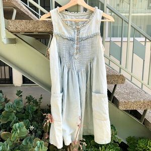 French Connection Denim Dress Size 6